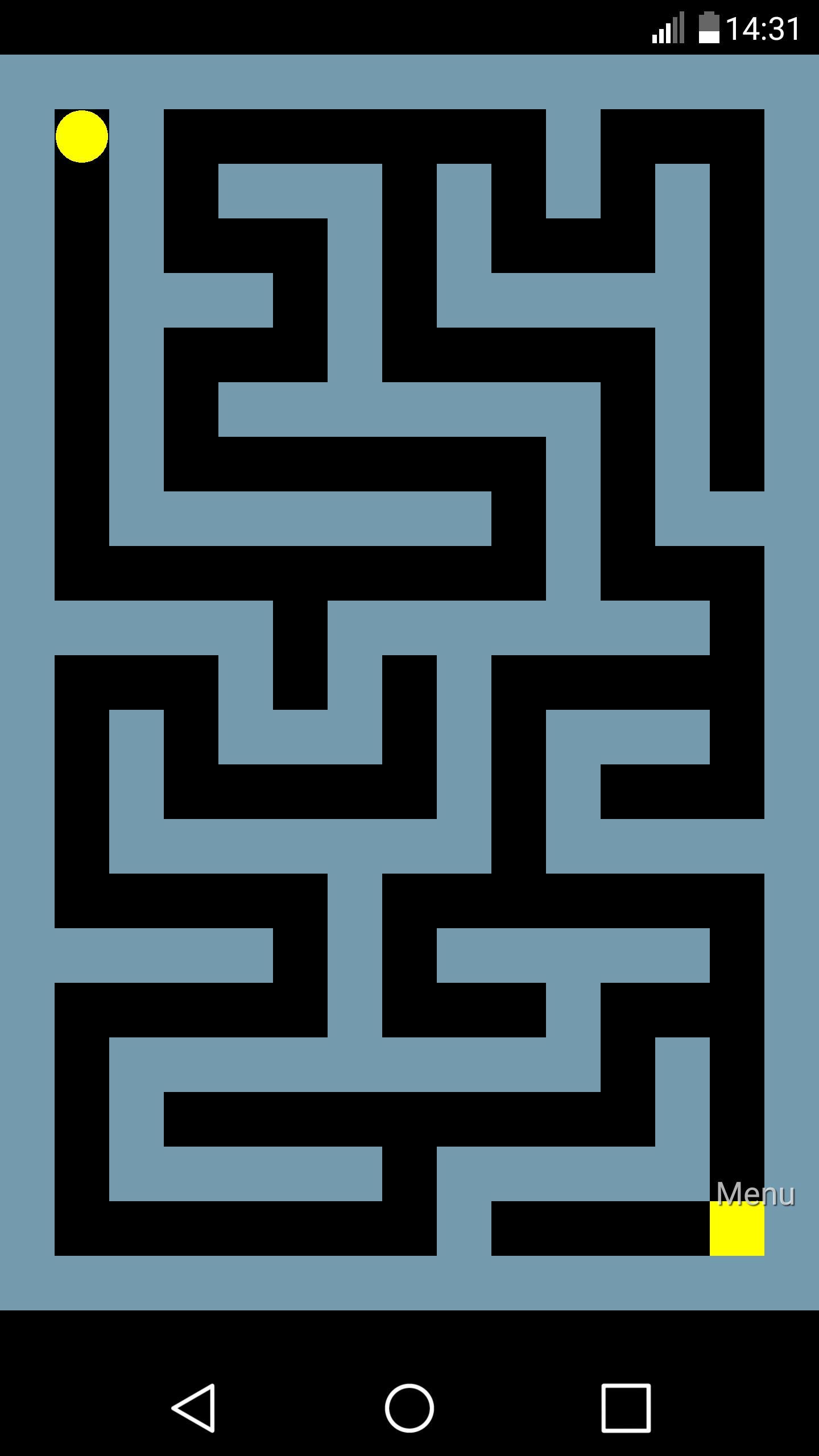 Maze 1 تصوير الشاشة