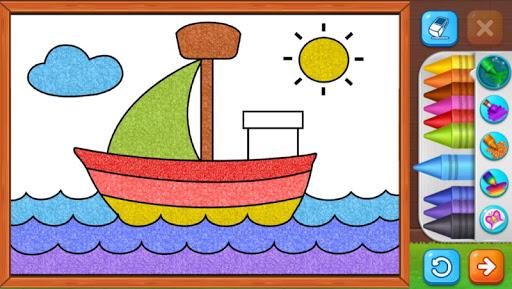 Coloring Games: Coloring Book, Painting, Glow Draw screenshot 7