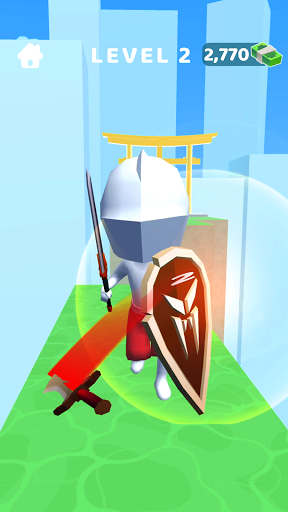 Sword Play! Ninja Slice Runner 3D screenshot 4
