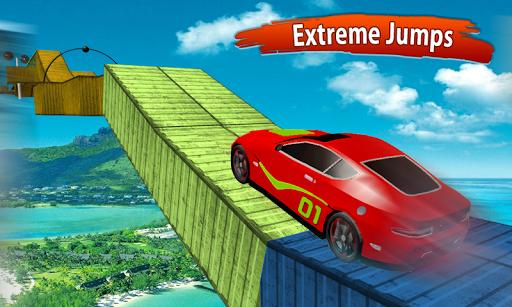Impossible Race Tracks: Car Stunt Games 3d 2020 screenshot 1