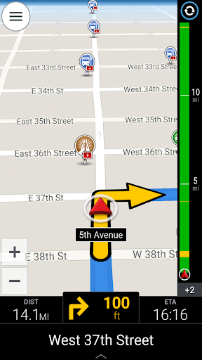 CoPilot GPS Navigation & Traffic screenshot 14