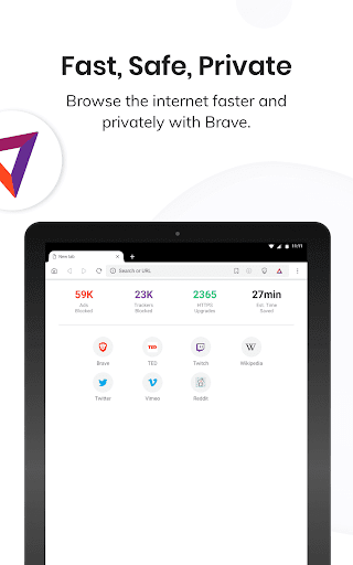 Brave Private Browser: Fast, secure web browser 11 تصوير الشاشة
