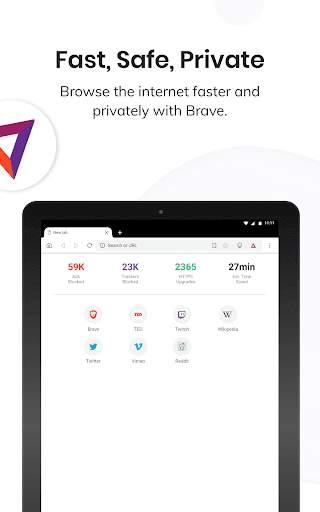 Brave Private Browser: Fast, safe web browser app screenshot 11