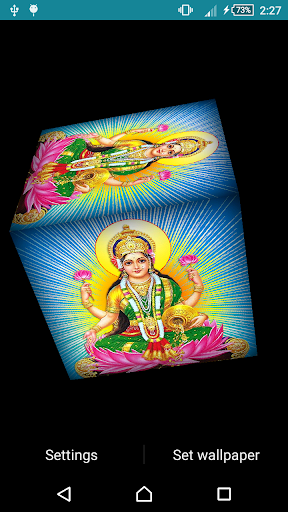 Laxmi Ji Live Wallpaper 3 تصوير الشاشة