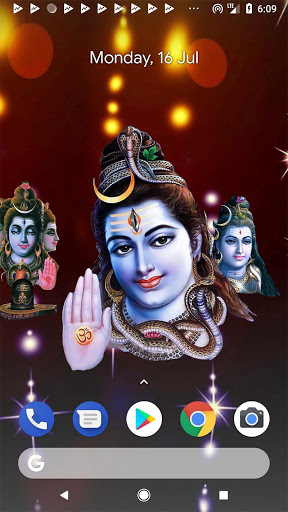 4D Shiv Shankara Live Wallpaper screenshot 8