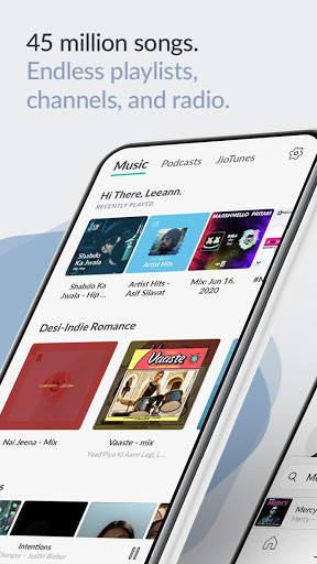 JioSaavn Music & Radio – JioTunes, Podcasts, Songs screenshot 1
