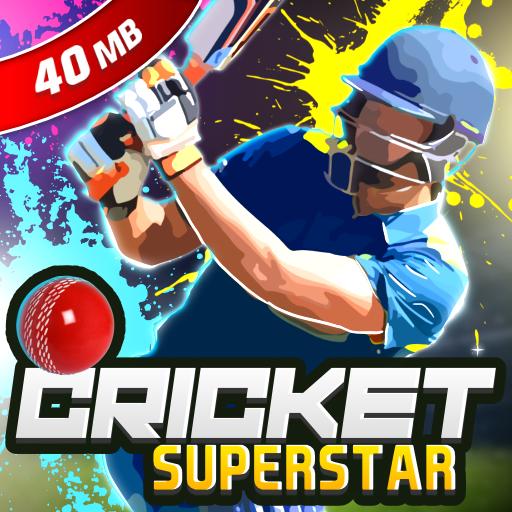 Cricket Superstar League 3D icon