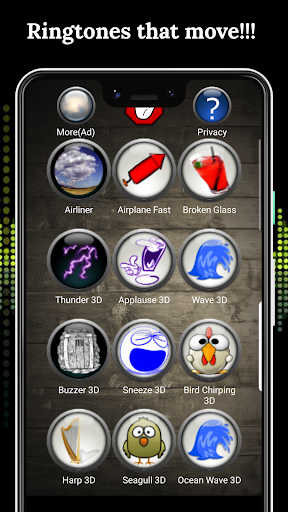 3D Ringtones 4D screenshot 1