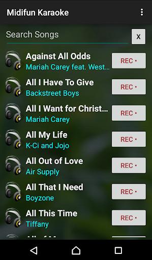 Midifun Karaoke screenshot 1