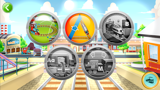 Learn Letter Names and Sounds with ABC Trains screenshot 1