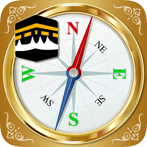Qibla Direction Finder & Prayer Time Alarm icon
