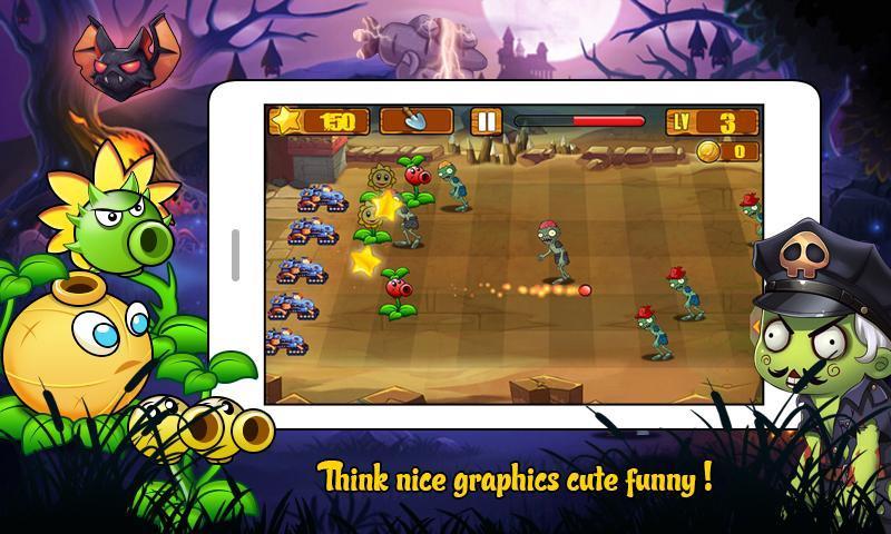 Angry Plants Wars screenshot 2