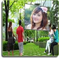 Natural Hoarding Photo Frames - green beauty style on APKTom