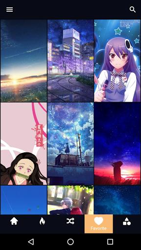 Anime Wallpaper 4 تصوير الشاشة