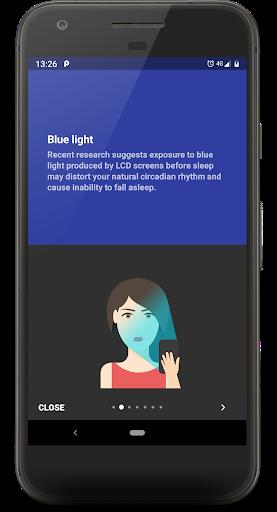 Twilight 🌅 Blue light filter for better sleep 5 تصوير الشاشة