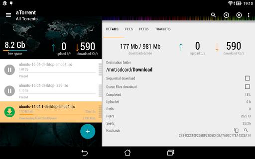 aTorrent - torrent downloader screenshot 9