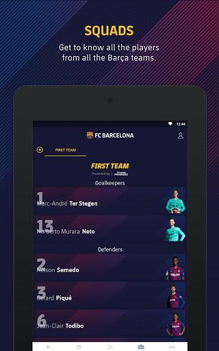 FC Barcelona Official App 15 تصوير الشاشة