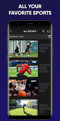 fuboTV: Watch Live Sports, TV Shows, Movies & News screenshot 5