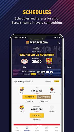 FC Barcelona Official App 8 تصوير الشاشة