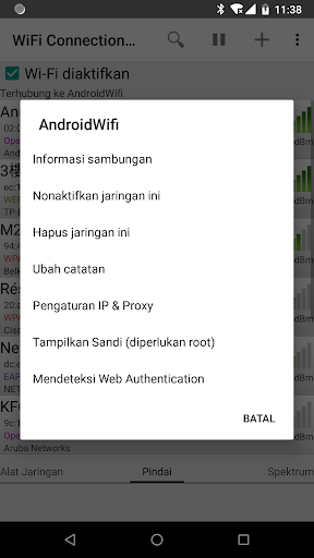 WiFi Connection Manager screenshot 4
