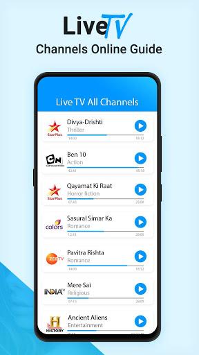 Live TV Channels Free Online Guide screenshot 5