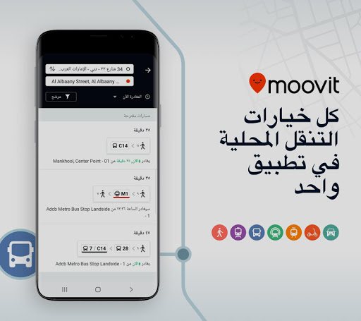 Moovit: مخطط للتنقلات حي و مبا 1 تصوير الشاشة