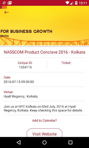NASSCOM official screenshot 3