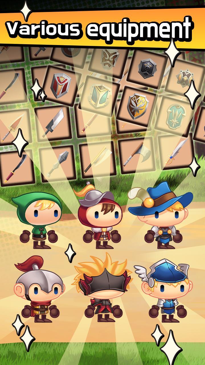 Sudden Warrior (Tap RPG) screenshot 2