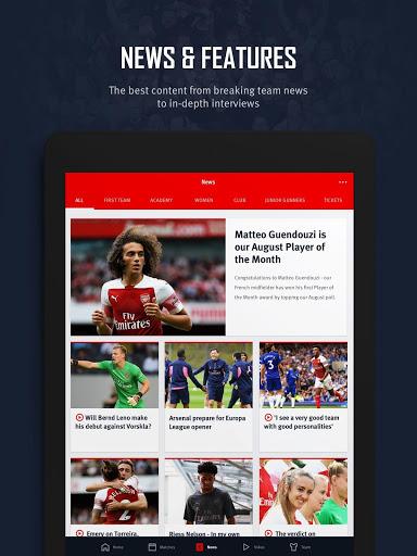 Arsenal Official App 13 تصوير الشاشة