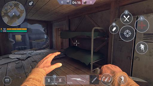 World War 2 - Battle Combat (FPS Games) screenshot 3
