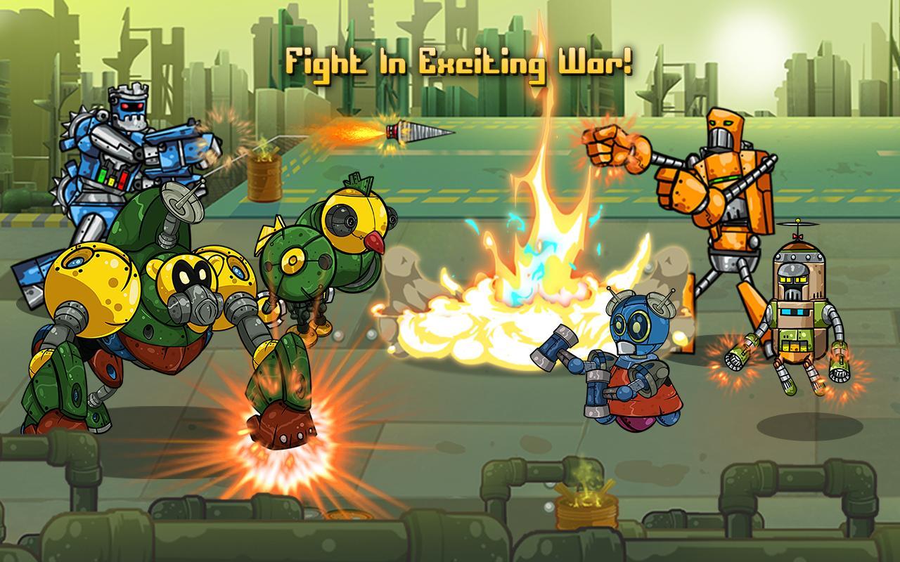 Robot Evolved : Clash Mobile 6 تصوير الشاشة
