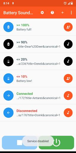 Battery Sound Notification screenshot 4