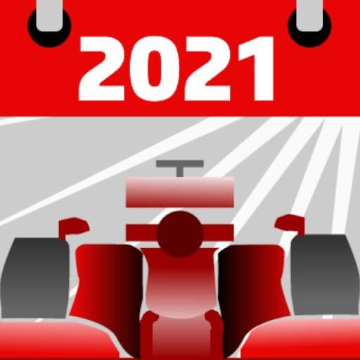 Racing Calendar 2021