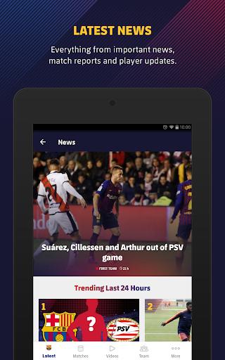 FC Barcelona Official App 13 تصوير الشاشة