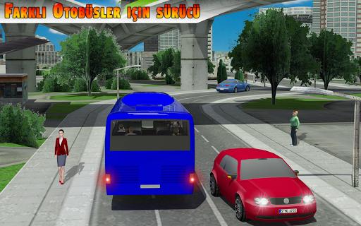 Şehir Otobüs Simülatör 3 BOYUTLU - bağımlılık oyun screenshot 4