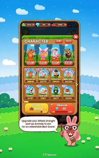 LINE Pokopang - POKOTA's puzzle swiping game! screenshot 5