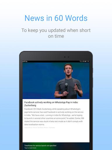 Inshorts - 60 words News summary screenshot 9