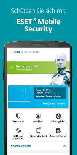 ESET Mobile Security & Antivirus screenshot 1