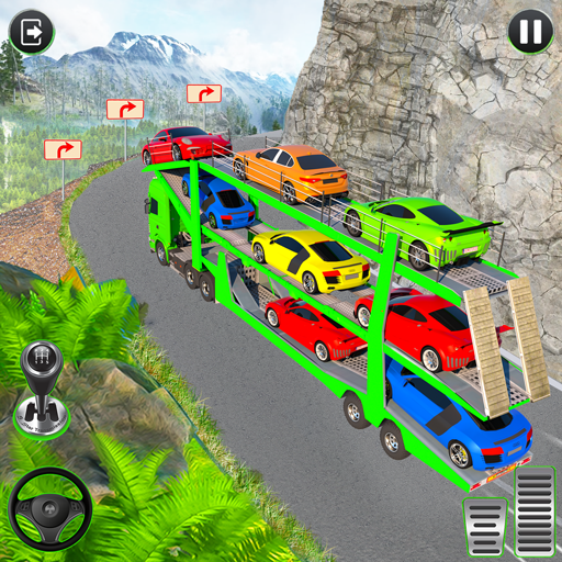Crazy Car Transport Truck:New Offroad Driving Game icon