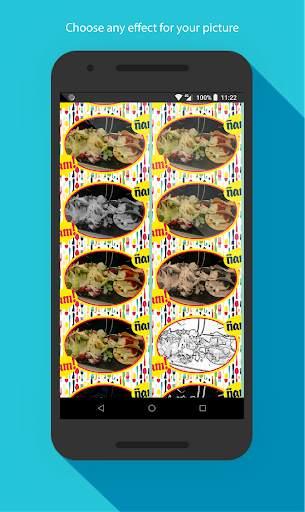 Food photo frames screenshot 5