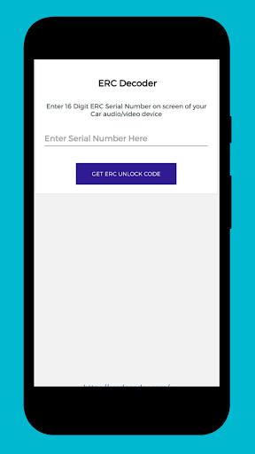 ERC Decoder / Unlocker screenshot 1
