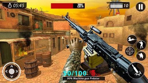 Firing Squad Free Fire Game: Free Gun Games 2020 screenshot 3