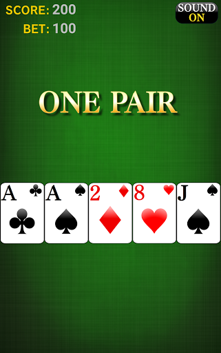 Poker [card game] 2 تصوير الشاشة
