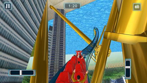 Rücksichtslose Achterbahn-Simulator-Spiele screenshot 1