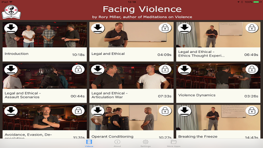 Facing Violence / Rory Miller screenshot 3