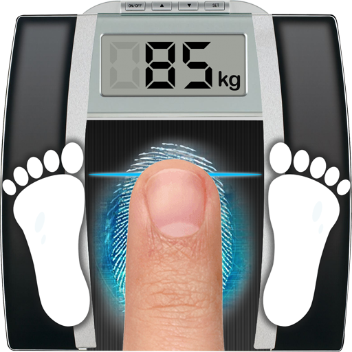 Weight Finger Scanner Prank أيقونة