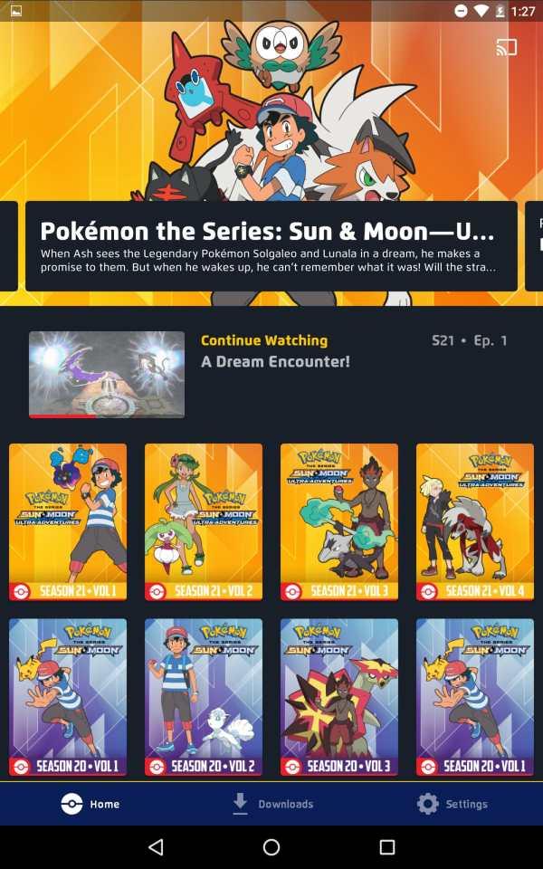 Pokémon TV screenshot 6