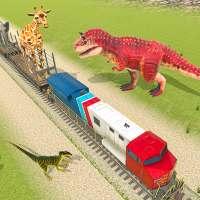 Rescue Animal Transport Train Sim: Wild Dinosaur on APKTom