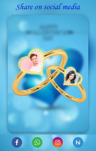 Lovely Ring Photo Frames : Love Couple Rings screenshot 4