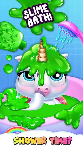 My Baby Unicorn - Virtual Pony Pet Care & Dress Up 8 تصوير الشاشة
